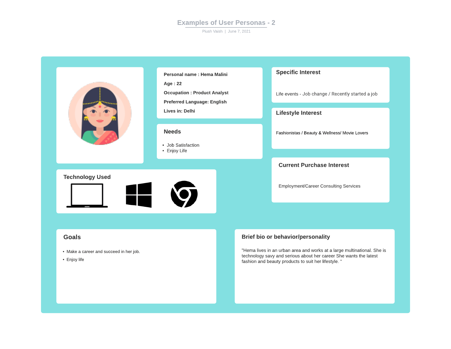 You are currently viewing 3 Examples of User Personas – Clear and Practical Way
